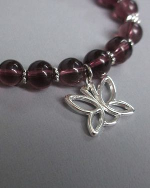 Simply Beautiful Bracelet - Mauve
