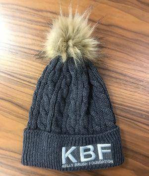 KBF Fur Pom Beanie