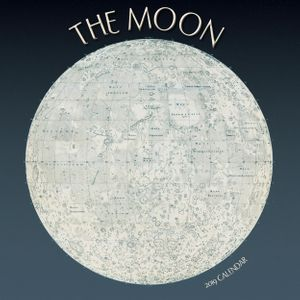 New Price! The Moon – 2019 Calendar