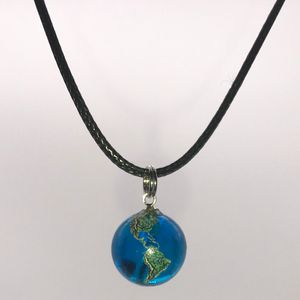 Glass Earth Pendant
