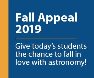 2019 Fall Appeal - Donate Today!
