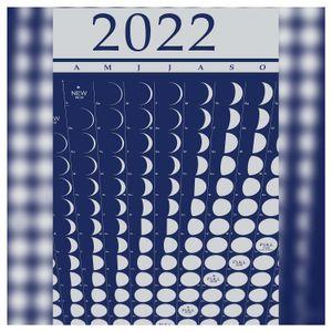 Moonphase Calendar 2022