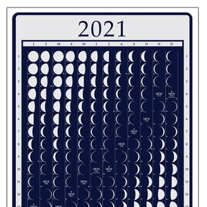 2021 Moonphase Calendar