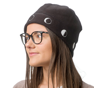 Moon Phases Fleece Cap