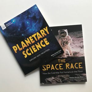 Book Set: The Space Race & Planetary Science