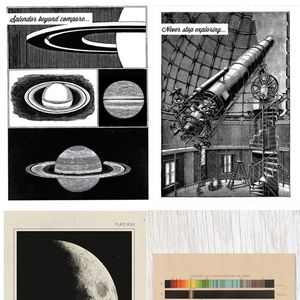 Astronomy Notecards (set of 4)