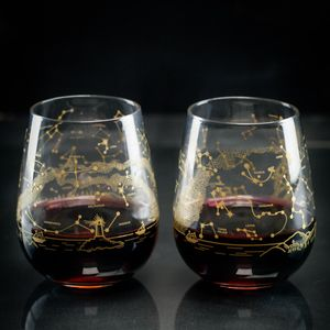 Constellation Wine Glasses (set of 2)