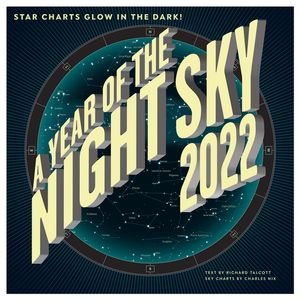 A Year of the Night Sky Calendar 2022