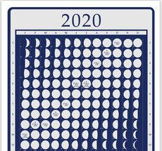 2020 Moonphase Calendar