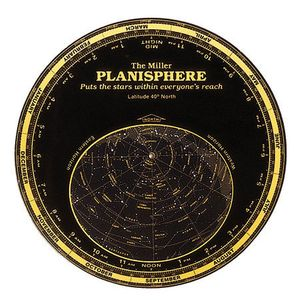 The Miller Planisphere - Most of the continental U.S.