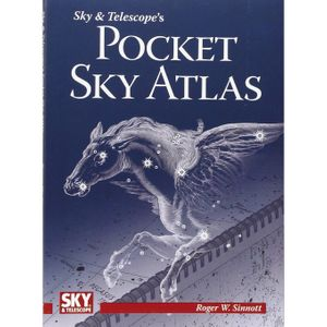 New price! Sky & Telescope's Pocket Sky Atlas