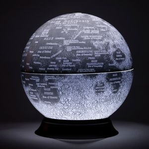 Illuminated Moon Globe