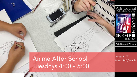Class: Anime After School Tuesdays 4-5PM
