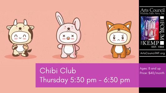 Class: Chibi Club, Thursdays 5:30 - 6:30 PM