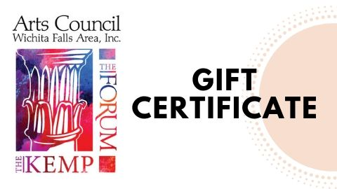 Arts Council Gift Certificate