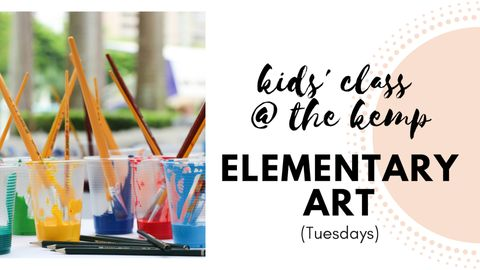 Youth: Elementary Art (monthly)