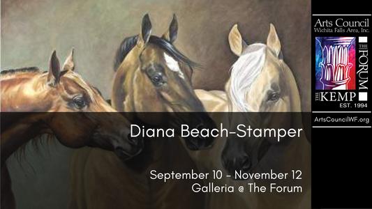 Diana Beach-Stamper: September 10 - November 12