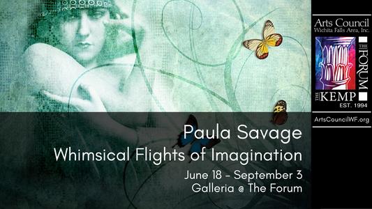 Paula Savage: June 18 - September 3