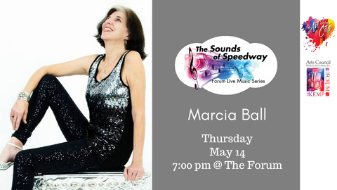 Sounds of Speedway: Marcia Ball - May 14, 2020