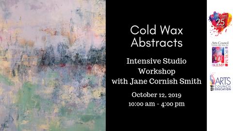 Adult: Cold Wax Medium Workshop (October 12, 2019)