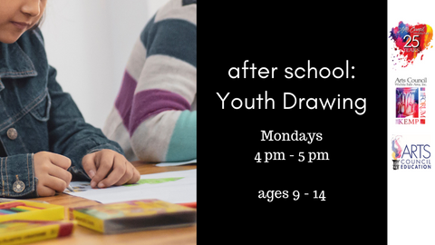 Youth: Youth Drawing (Monthly Registration)