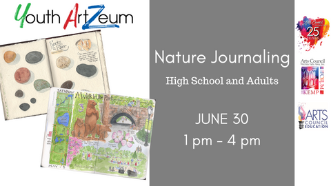 ArtZeum: Nature Journaling (High School and Adult)