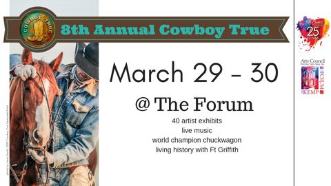 Cowboy True Dinner and Live Auction: Saturday March 30, 2019