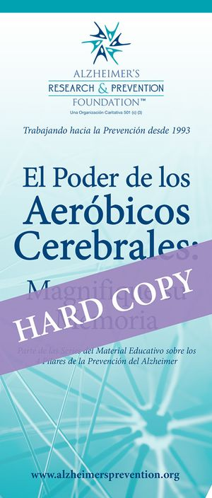 Spanish HARD COPY Brochure: The Power of Brain Aerobics