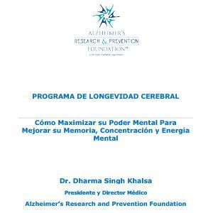 Programa de Longevidad Cerebral e-Book