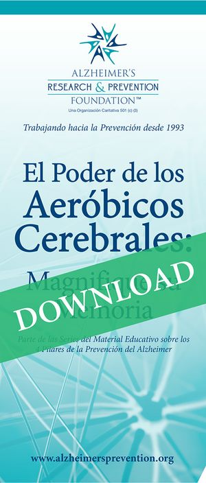 Spanish DOWNLOAD IT NOW-  Brochure: The Power of Brain Aerobics