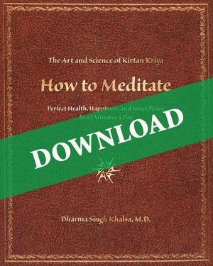 DOWNLOAD IT NOW - How to Meditate