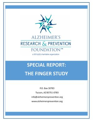 Special Report on FINGER Study- DOWNLOADABLE