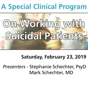 On Working with Suicidal Patients (A Special Clinical Program for Early Career Clinicians and Trainees)