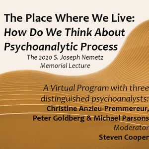 The Place Where We Live: How Do We Think About Psychoanalytic Process