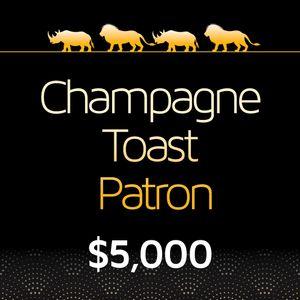 Champagne Toast Patron