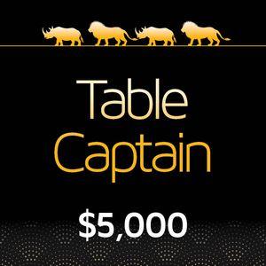 Table Captain Sponsor
