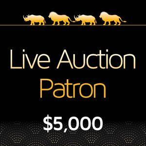 Live Auction Patron