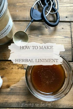 Natural Glycerides & Liniment Making Class Jan. 25, 2020, 11:00 am - 1:00 pm