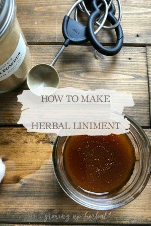 Natural Glycerides & Liniment Making Class Jan. 25, 2020, 11:00 am - 1:00 pm
