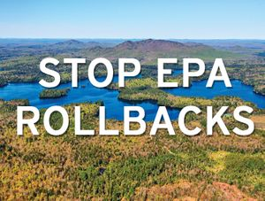 Stop EPA Environmental Rollbacks