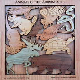 Animals of the Adirondacks Puzzle