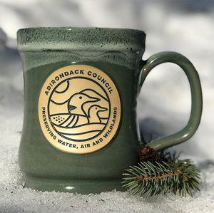 Loon Mug | Sage w/Hunter White