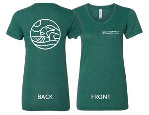 Loon T-Shirt | Women's | Tri-Evergreen