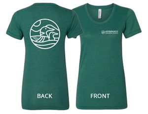 Loon T-Shirt | Women's | Tri-Evergreen