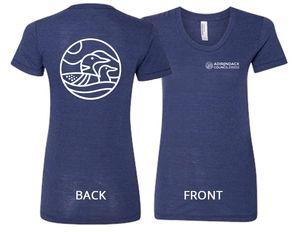 Loon T-Shirt | Women's | Tri-Indigo