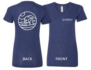 Loon T-Shirt | Women's | Tri-Indigo