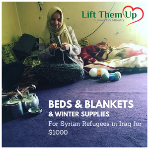 Syrian Refugee Christmas Relief: Beds, Blankets, & Winter Supplies