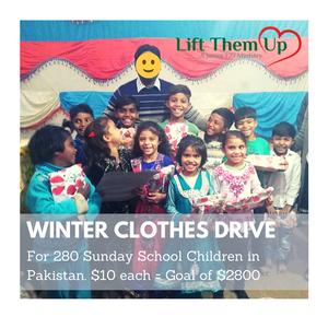 Pakistan Church Christmas Clothes for Children