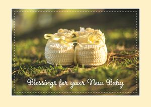 Blessings for Your New Baby