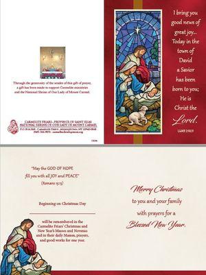 Christmas Enrollment Card